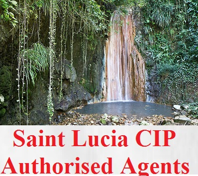 St Lucia CIP Authorised Agents